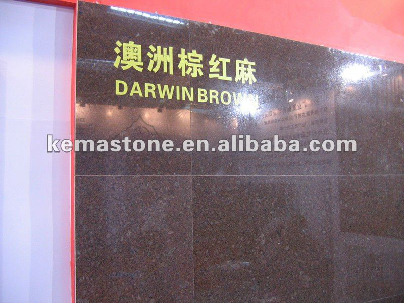 Darwin Brown Ice Brown Granite Slab