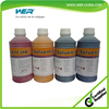 Water-base pigment ink for uncoated art paper wall paper