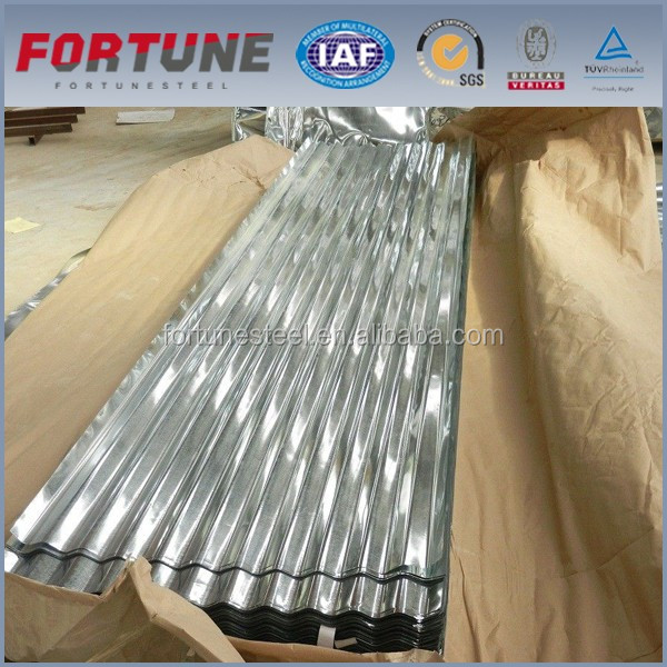 IBR Trapzium roofing sheet trapezoidal tile galvanized roof sheet