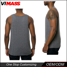 Wholesale Gym Fitness Dry Fit Custom Stringer Tank Top