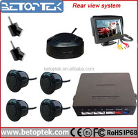 Betoptek 4.3 Inch LCD Monitor Car Sensor Parking Kit Car Camera Video Switch
