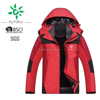 Hooded design 3 in 1 man winter coat