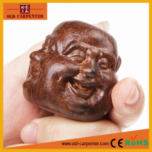 High quality 4 Faces Buddha wooden ornament China wood carving craft