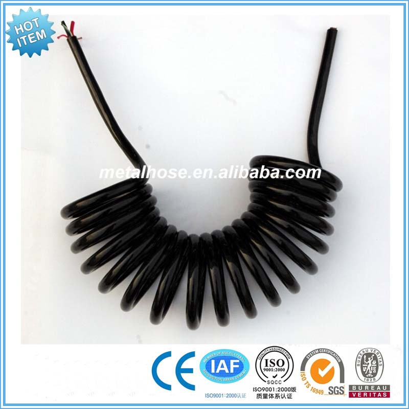 Black Flexible Corrugated PA Nylon Hose