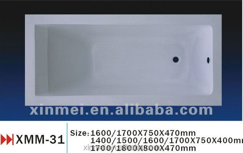 Factory price best acrylic bathtub brands low cost walk in for Best acrylic bathtub to buy