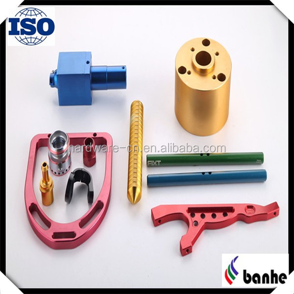Oxided aluminum CNC fastening parts custom made supplier