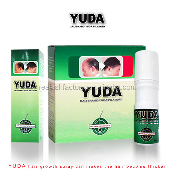 2015 hottest quality guaranteed customized YUDA&Sunburst Natural hair growth product