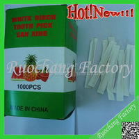 Toothpicks Making/wholesale toothpicks/plastic dental floss toothpicks