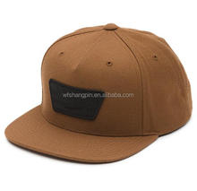 Hot Sale Custom Embroidery Patch Snapback Hat Plain Flat Bill Hat
