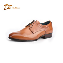 Men's genuine leather guang zhou outlet footwear dress shoes