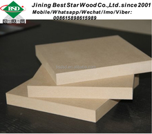 China 18mm MDF boards for bathroom wall covering panels