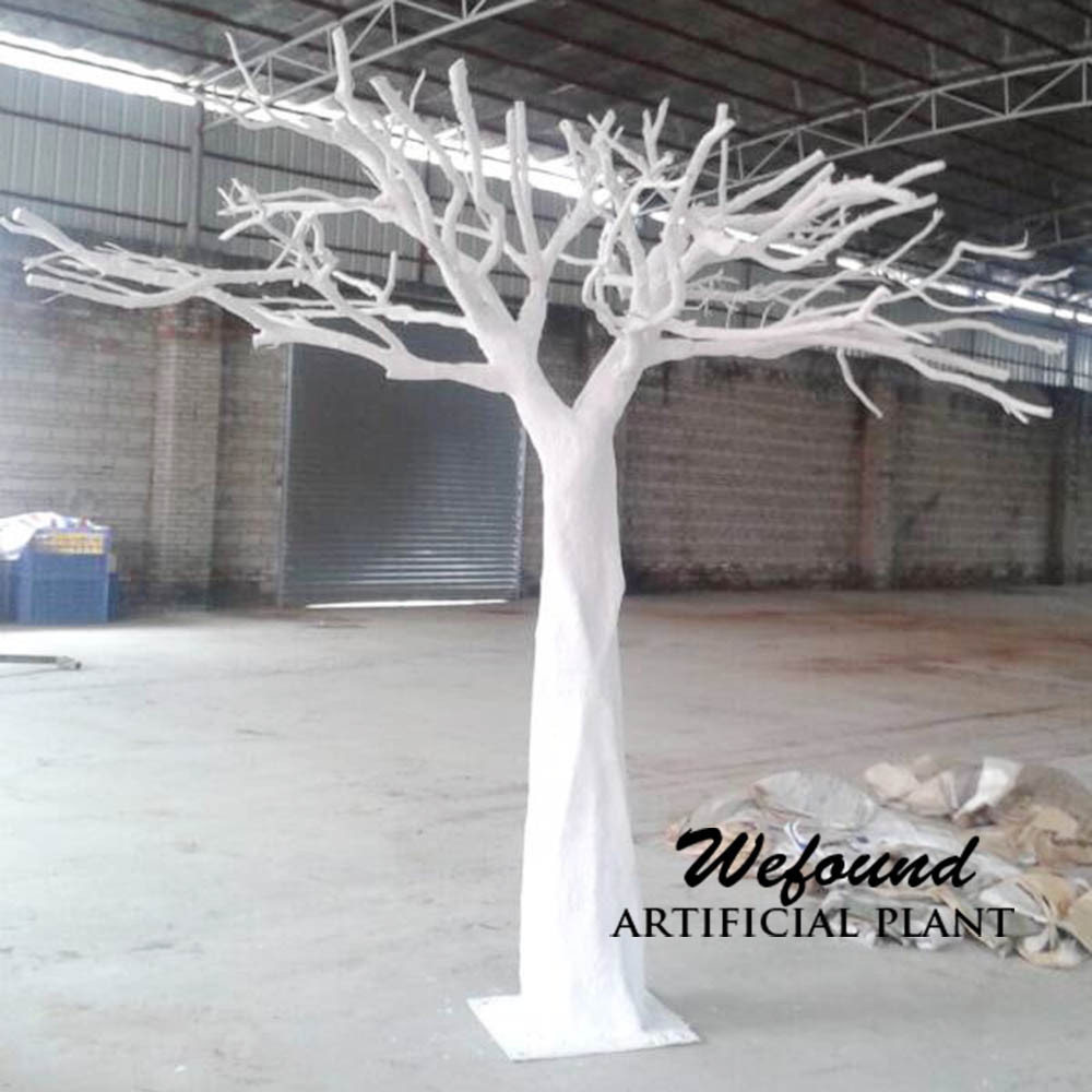wf07311white artificielle manzanita arbre de mariage center de table arbre en fiber de verre. Black Bedroom Furniture Sets. Home Design Ideas