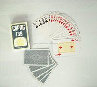logo custom standard size paper playing cards for advertising
