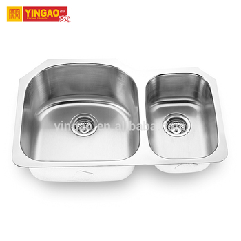 Restaurant Equipment Double Bowls Pakistan SUS 304 Stainless Steel Kitchen Sink