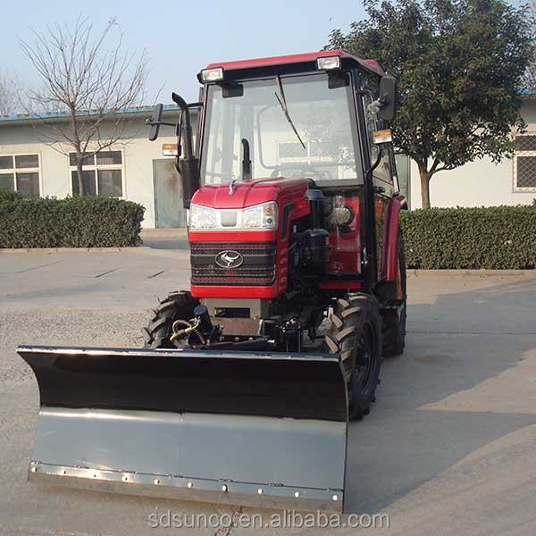 shandong farm tractor snow plow, snow plough, snow blade machine