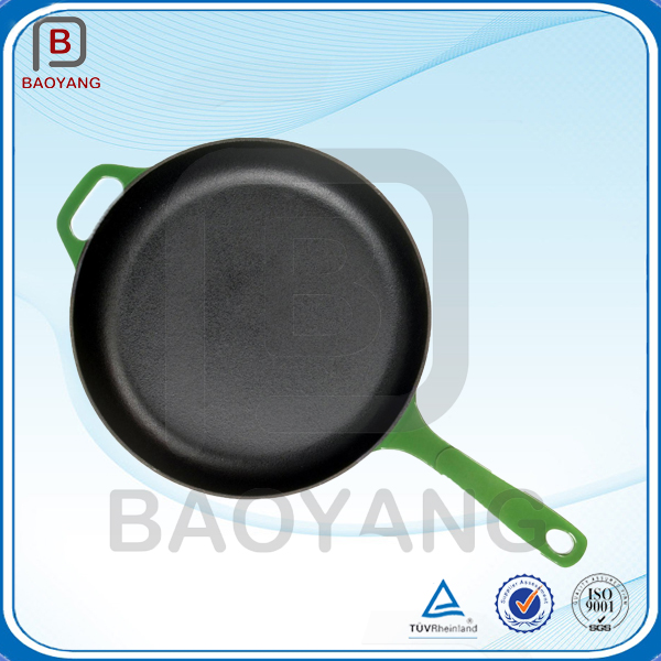 China supplier nonstick cast iron coated enamel cookware set for kitchen