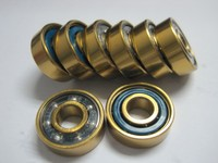 ABEC-5 ABEC-7 ABEC-9 colorful dust cover ball bearing 608ZZ Electric Skateboard Bearing Electric Skate Board Parts