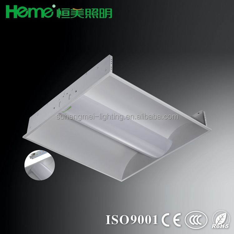 Factory supply high quality Recessed LED modern ceiling lamp indirect troffer lighting fixture grid lamp