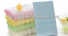 hotel pure cotton nice white and colored bath towel