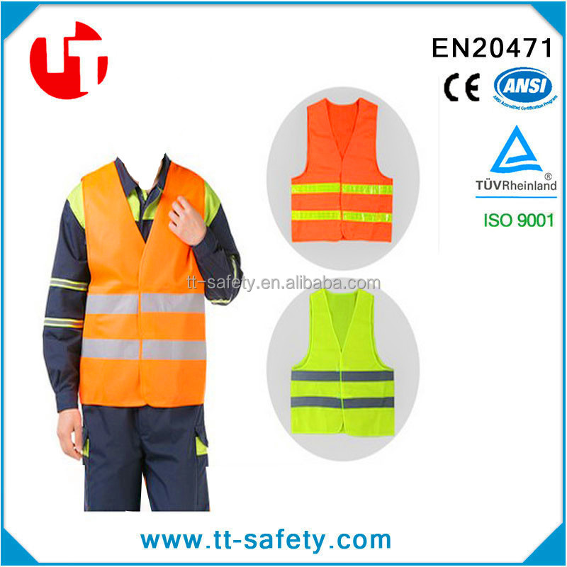 CE promotional cheap factory low price yiwu reflective safety vest with high quality