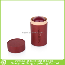 Recycle paper candle box custom round candle boxes with lid