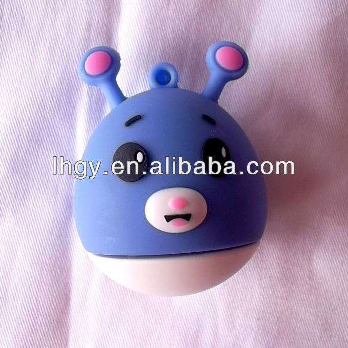 Cute Egg Shaped Smiling Face Style USB Hand Warmer