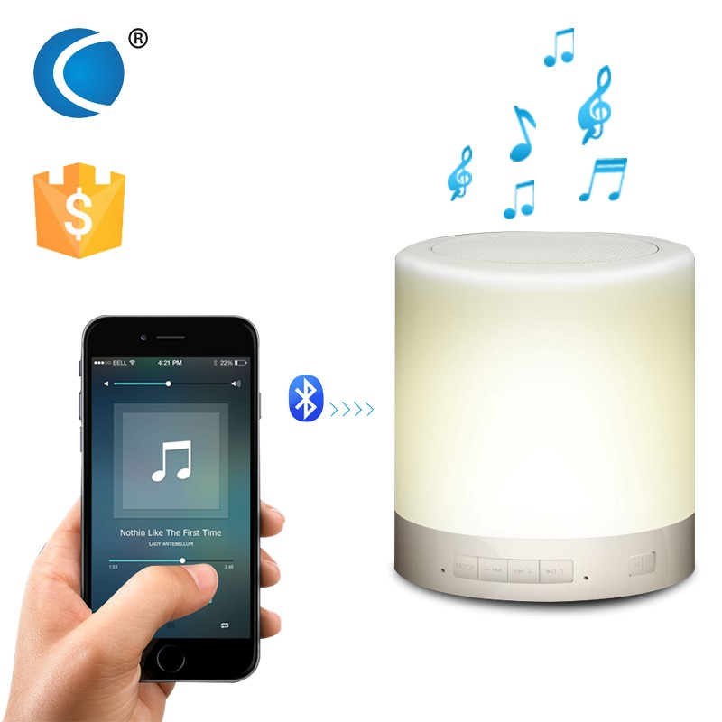 Portable led music mini bluetooth speaker multifunction and bluetooth led lamp speaker