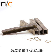 Silver color Factory selling u shaped nail manufacturer color staples