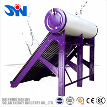 Durable using low price solar water heaters in 2018, compact battery powered water heater china aquecedor solar