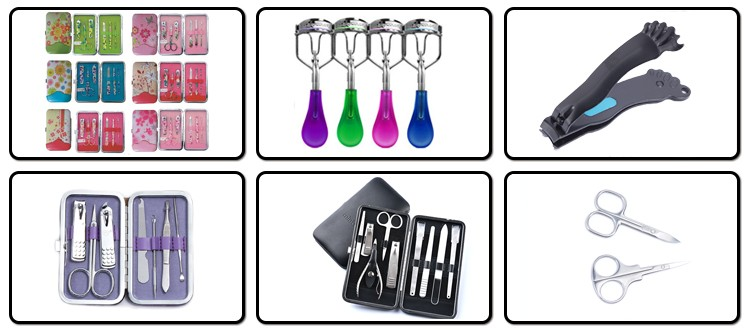 Wholesale products YYS-697J stainless steel manicure set