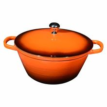Home cooking cast iron kitchenware enamel casserole industrial boiling pot sets