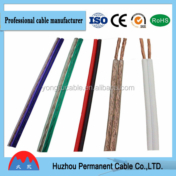 10 AWG Red and Black 2 Core Speaker Cable, Flexible Electrical Cable