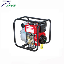 water pumping machine with diesel engine air cooled diesel irrigation water pump 186f
