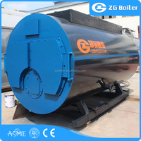 Quickly install packing gas fired oil fired steam hot water boiler laundry machine price