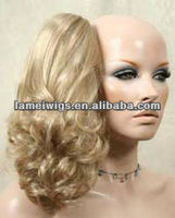 PNT-201227synthetic hair ponytails/fashion wigs/synthetic hair wigs/clip wigs/clip in hair extension
