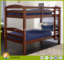 Antique adult wooden bed/ solid wood bunk bed/ cheap wood children bunk bed