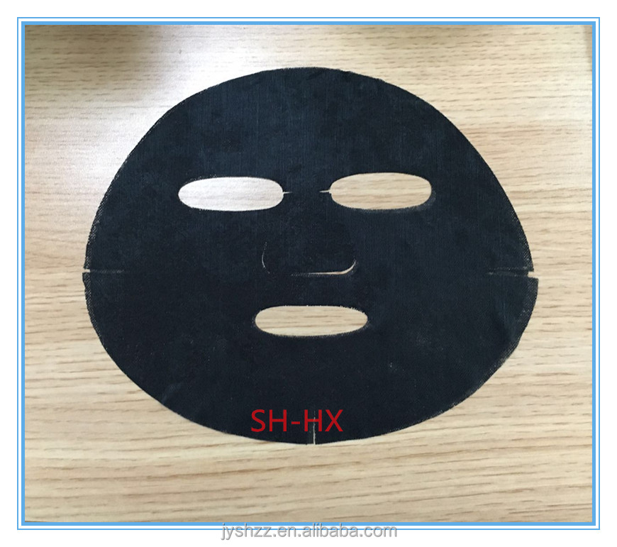 Graphene fibre facial mask for whitening & cleaning function,spunlace nonwoven