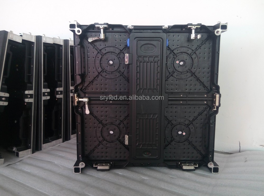 Multifunctional led display 500x1000mm panel night club led video wall p3.91 p4.8