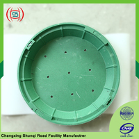 Wholesale round manhole cover for planting flowers and plants