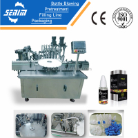 SM-ED30 China automatic nose drops filling and capping machine