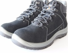 SJay new casual style work safety shoes, architecture workers, suede leather, injection pu outsole,China