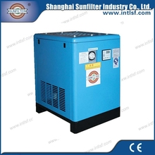 Sunfilter air refrigerated drier machinery with air filter