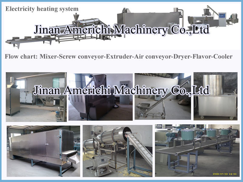 snackfood dog food fish food production machine made in China
