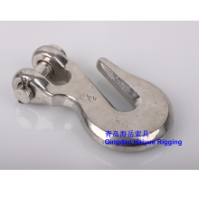 Stainless steel rigging hook