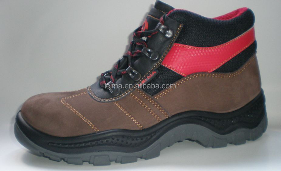 2014 stytlish comfortable steel toe boot best safety shoes men waterproof work shoes steel toe inserts