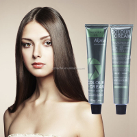 Professional 100ml salon hair color OEM private label hair color cream