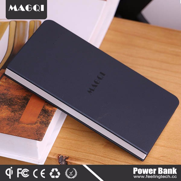 Wholesale OEM slim wireless smart battery portable power bank,mobile power bank