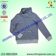 100%cotton long sleeve kids tshirt manufacture in china