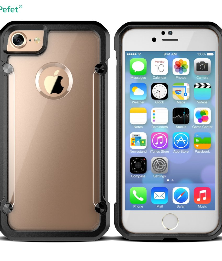 Powerful Shockproof Hybrid Hard Combo Plastic TPU Bulk Cell Phone Case For iphone 6/s
