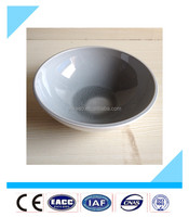 2016 New arrival cheap round 7 inch white color stoneware bulk ceramic bowls from China factory